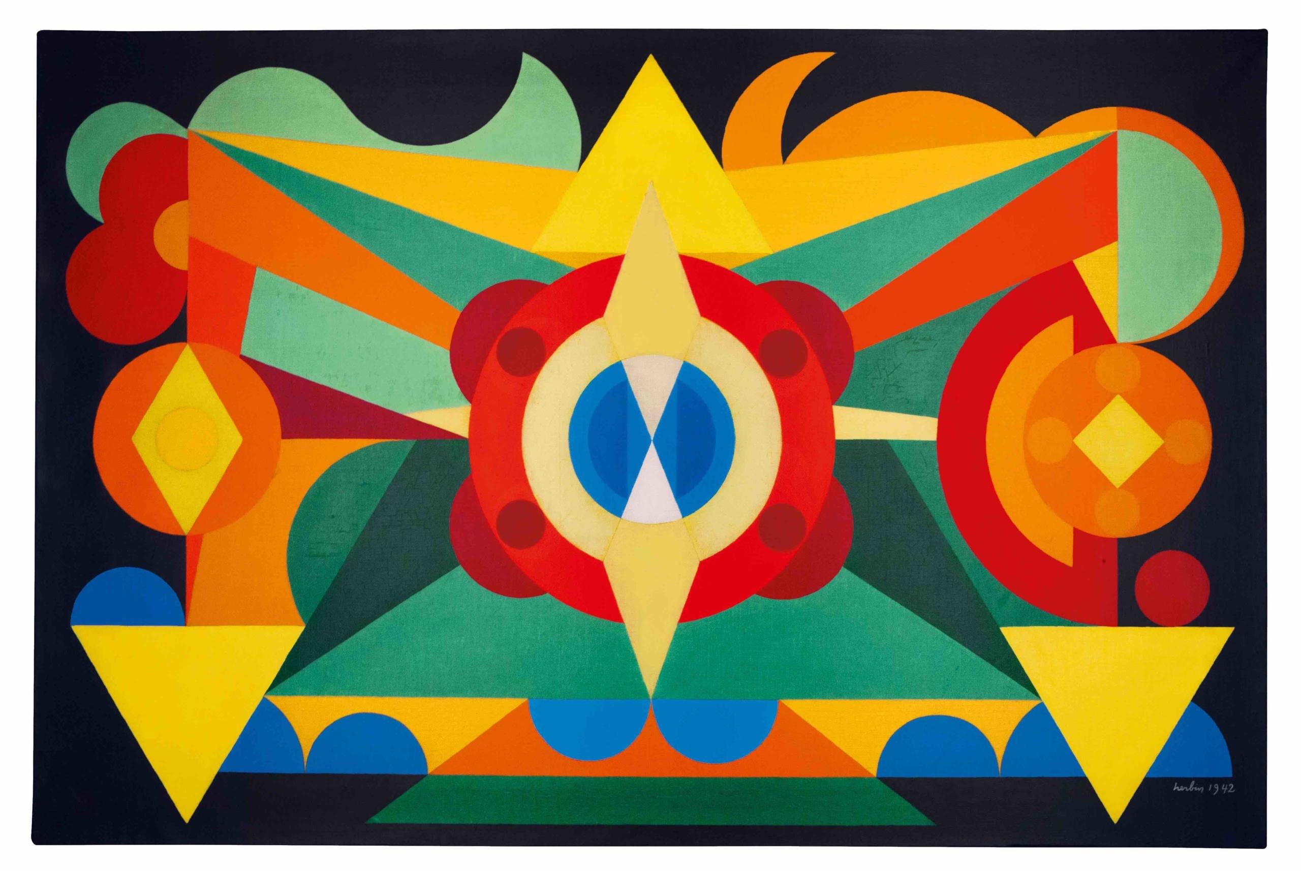 galerie, orlando gmbh, kunst, Auguste Herbin